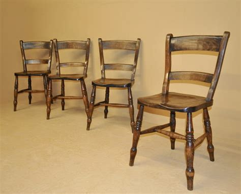 antique kitchen furniture set of 4 barback kitchen chairs r3470 antiques atlas