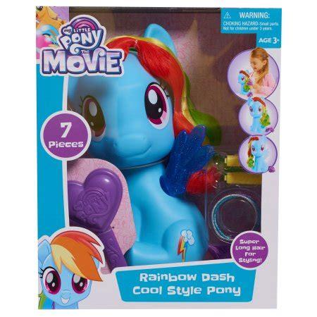 Styling Figure My Pony Set figures toys my pony rainbow dash