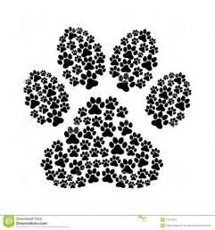 Dog Footprint Royalty Free Stock Photography   Image: 31734447