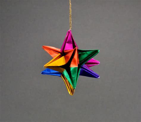 Origami Ornament - origami ornaments balls comot 22 images stock images
