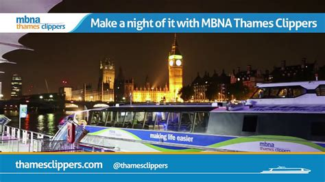 thames clipper youtube get to the o2 in style mbna thames clippers youtube