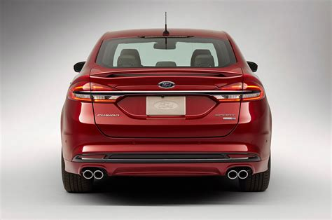 2014 Ford Taurus Interior 2017 Ford Fusion Refreshed For Detroit Adds 325 Hp V6