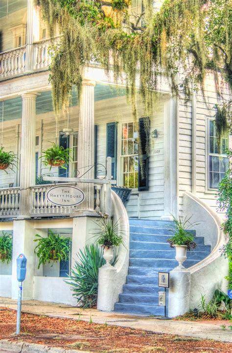 rhett house inn rhett house inn stairs photograph by e r smith