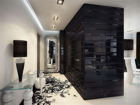 black white interior black white for a modern and timeless room decorating