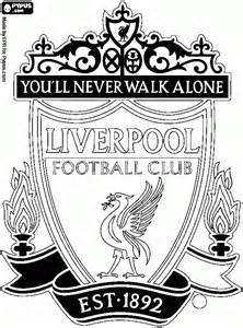 liverpool colors free coloring pages of liverpool fc