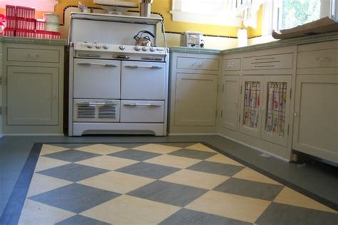 retro kitchen flooring ideas marmoleum in san jose home eclectic kitchen san