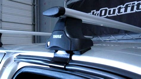 Tacoma Thule Roof Rack by Toyota Tacoma Thule Rapid Traverse Aeroblade Roof Rack By Rack Outfitters