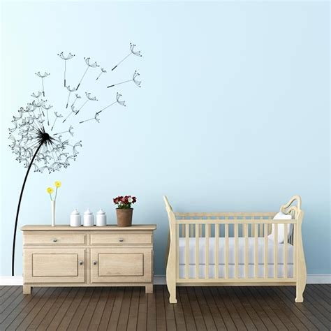Wall Murals For Office blowing dandelion flower wall decal wall decal world