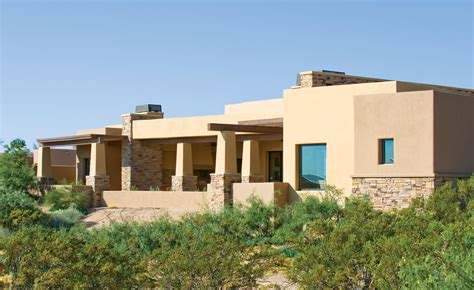 new mexico custom home brings the indoors out picacho