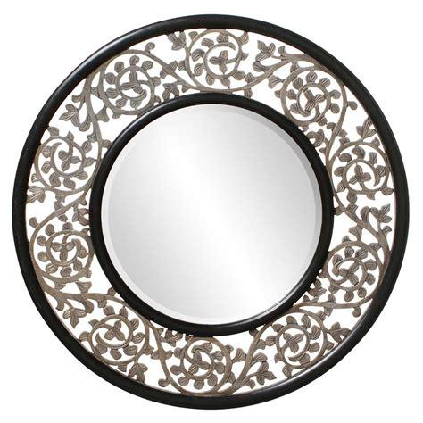 designer mirrors round ornate designer mirror hre 095 accent mirrors