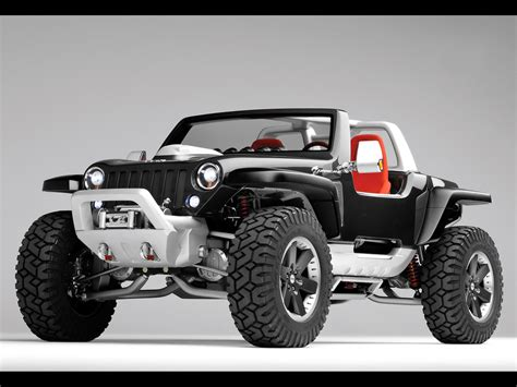 future jeep the most unusual and strange vehicles old concept cars