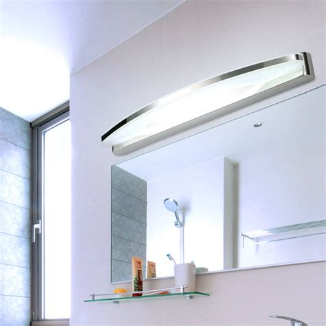 estimable led bathroom light fixture bathroom cabinets led 9w 12w waterproof pannel l modern makeup dressing room
