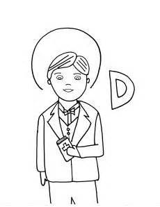 catholic alphabet coloring pages d is for st dominic savio saint dominic and catholic kids