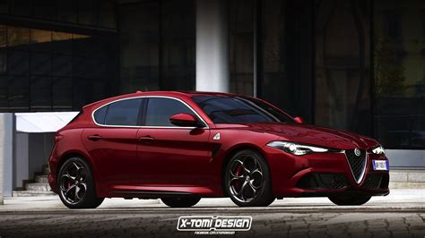 alfa romeo news 2019 alfa romeo giulietta successor rendered with giulia