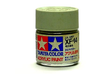 Dijamin Tamiya Enamel Xf 14 J A Grey Gundam Model Kitt Paint 2x tamiya model color acrylic paint xf 14 j a grey net 23ml 81314 ca267 models kits rcecho