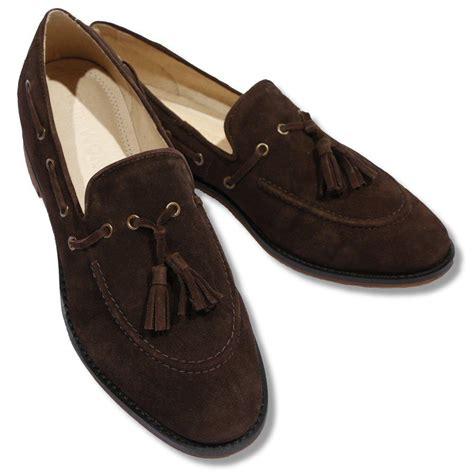 tassel loafers suede nth mod dandy suede tassel loafer brown adaptor