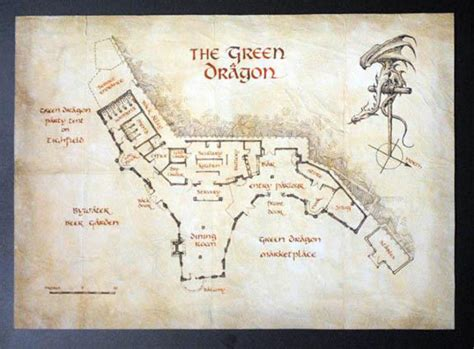 Bag End Floor Plan by Real Hobbit Green Pub Opens In New Zealand
