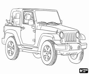 jeep renegade coloring page cars coloring pages printable games