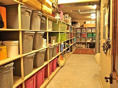 storage dilemma wasted space meets shelving the couponing basement storage shelves declutter basement storage shelves basement storage