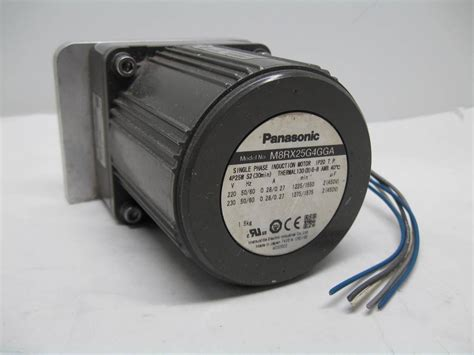 Motor Fan Ac Panasonic panasonic m8rx25g4gga reversible induction motor 25w 4