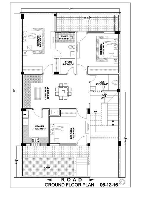 30 215 50 house map floor plan ghar banavo