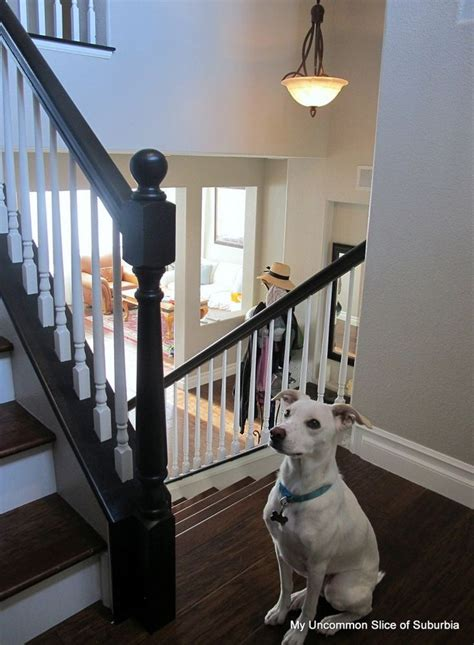 how to paint stair banisters railings 17 best images about redoing the stairs on pinterest