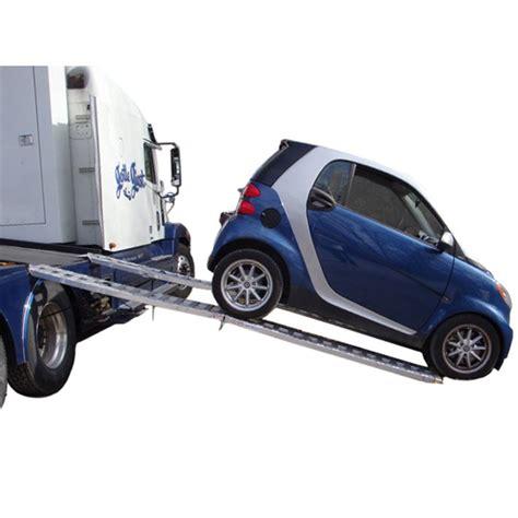 Low Height Bed smart car hauler aluminum ramp system car loading ramps