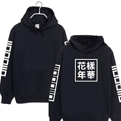 Hoodie Kpop Bts Wings Hitam bts kpop merchandise