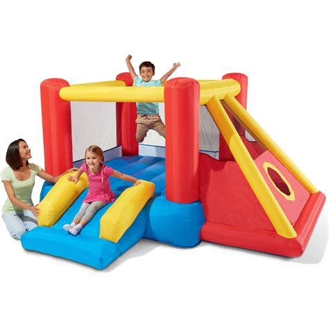 inflatable bounce house inflatable bounce house with slide bouncer jumper ball pit teepee fort playhouse ebay