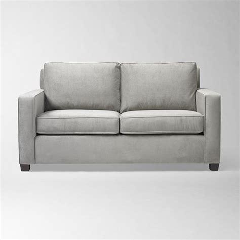 west elm velvet sofa 17 best images about davenports on best