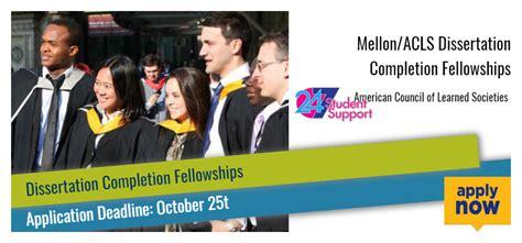 acls dissertation fellowship 28 dissertation completion fellowship dissertation