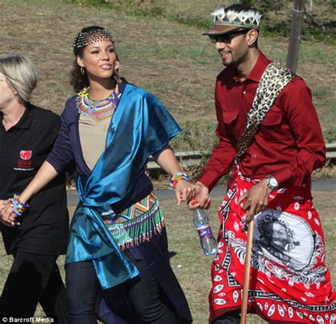 Xhosa Wedding Blessing by And Swizz Beatz Get Zulu Blessing For Unborn