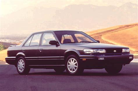 small engine maintenance and repair 1992 nissan stanza regenerative braking 1990 92 nissan stanza consumer guide auto