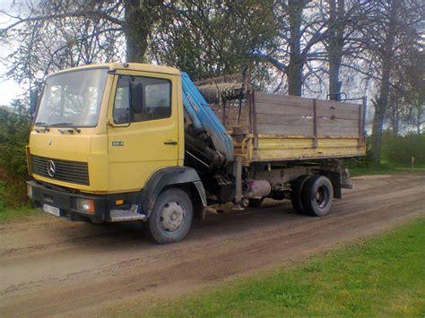 used mercedes 814 dump trucks year 1991 price