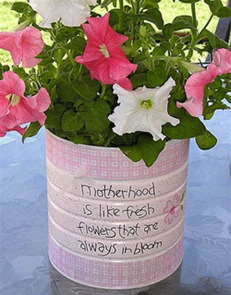 Mothers Day Handmade Gifts - craft gift ideas for mothers day family