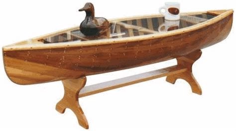 Canoe Coffee Table by Badger S A Canoe Is A Canoe Is A Canoe Part Two