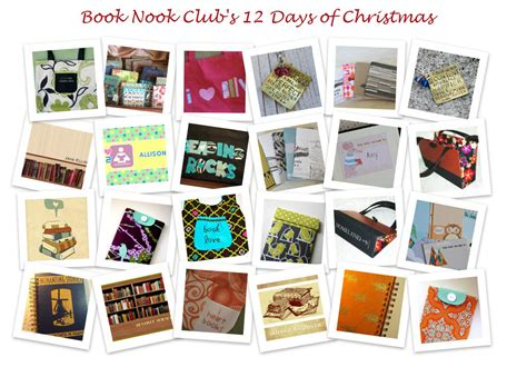 christmas gifts for book club members book nook club 12 days of gift ideas for book day 1 gift card giveaway