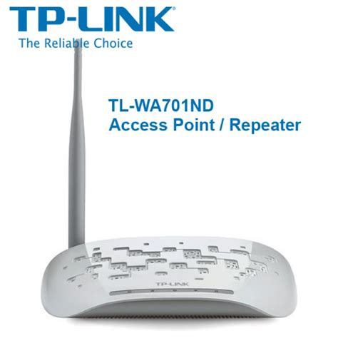 Tp Link Tl Wa701nd Wireless N Access Point 150mbps tp link tl wa701nd 150mbps wireless n access point repeater