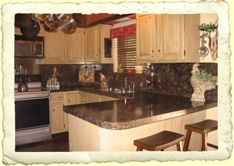 Painting Kitchen Countertops Before And After by Painted Countertops Before And After Granite