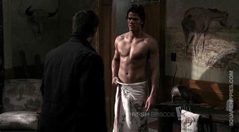 The Miracle Season Jess Zacharias Jared Padalecki Shirtless In Supernatural Squarehippies