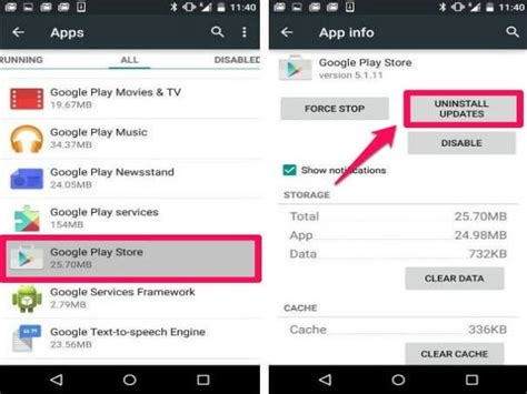 Play Store Update All 10 Fixes To Resolve Play Store Crashes Gizbot