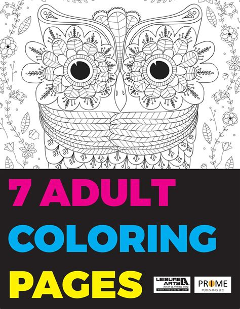 coloring pages for special needs adults 7 adult coloring pages free ebook favecrafts com