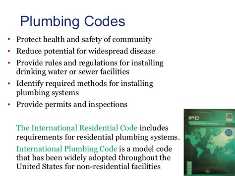 Plumbing And Regulations by Plumber