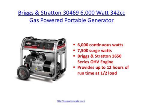 10 best home generators for 2014