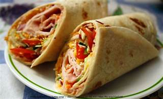 to wrap wraps quick tasty good for you too unl food