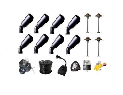 Shop High Quality Landscape Lighting Kit Wifi Control High Quality Landscape Lighting