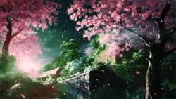 wallpaper flower gif gif cute kawaii flower scenery cherry blossom cute gif