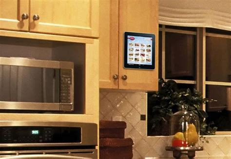 tablet wall mount diy padtab wall mount for ipad and tablet pc gadgetsin