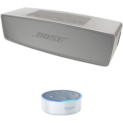 Second Speaker Bose bose soundlink mini bluetooth speaker ii pearl with