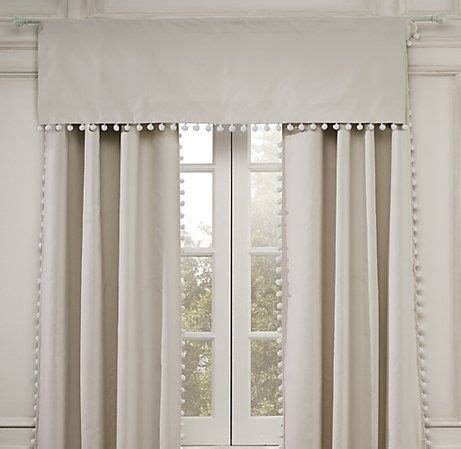 pom pom drapes 17 best images about pelmets and blinds on pinterest